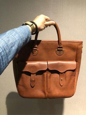 Sturdy Luggage Supply 栃木皮革肩背手提公事包 黑/咖啡兩色現貨