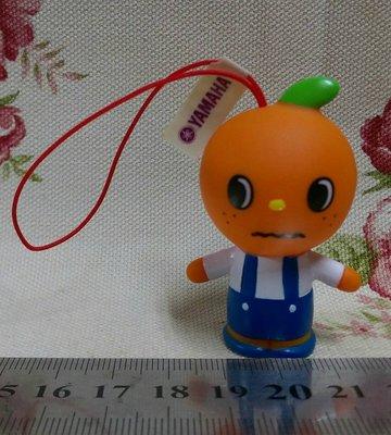 龍廬-自藏出清~吊飾-Yamaha音樂教室吉祥物公仔紅蘋果娃娃Pupple公仔吊飾/只有1個