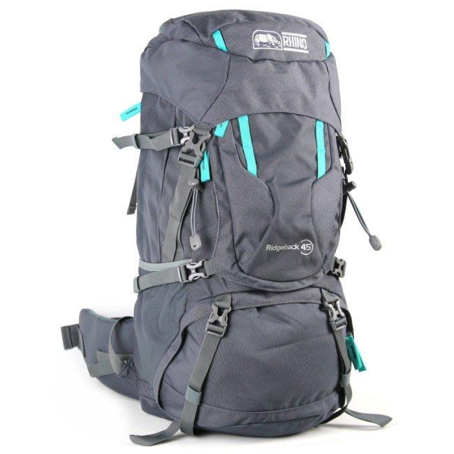 [金樹戶外]RHINO 犀牛 Ridgeback 45公升背包 登山背包 旅遊背包 休閒背包 R245