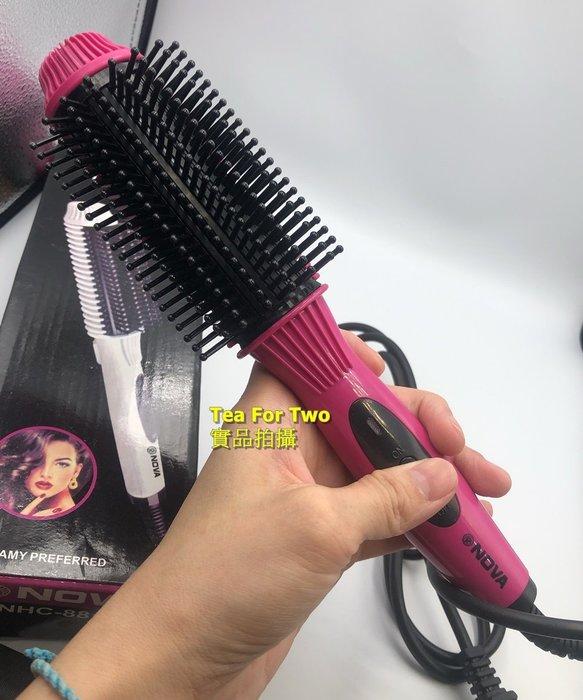 正品(現貨TP6)- 妍睫 NOVA 直髮 捲髮器 離子夾 電捲棒 陶瓷 溫控 捲髮棒 直捲 兩用