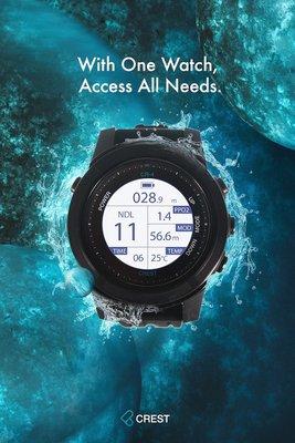 【RIDA日大潛水】~Crest-CR-4潛水電腦錶【現貨】