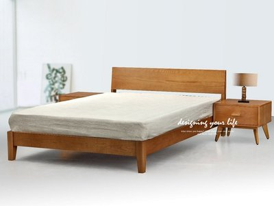 【DYL】愛爾蘭6x7尺北歐全實木雙人床架、床台(全館一律免運費)A系列139T