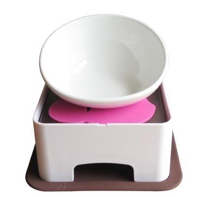 狗狗碗陶瓷法鬥碗日本寵物餐桌扁臉防滑泰迪狗食盆法鬥犬大臉貓碗XSDJ5696