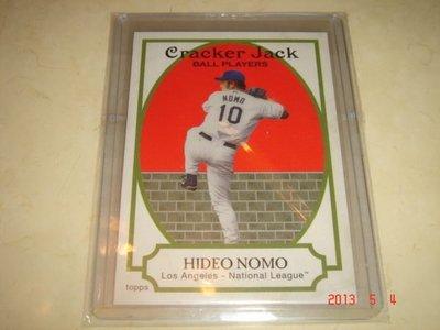 美國職棒 野茂英雄 Hideo Nomo  2005 Topps Cracker Jack #116 球員卡