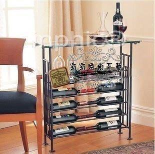 INPHIC-歐式酒櫃子 鐵藝酒架 鐵藝酒瓶架 紅酒架 葡萄酒架