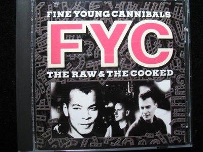 FYC 年輕善良的人族合唱團 - The Raw & The Cooked - 1988年BMG 美國版碟片如新 -251元起標