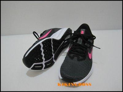 【喬治城】NIKE 女款 透氣慢跑鞋 (黑粉) AQ7486002