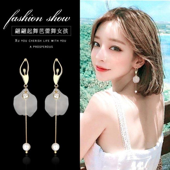 促耳環顯臉瘦的耳環超仙女氣質韓國個性百搭潮人簡約銀質耳釘網紅耳墜