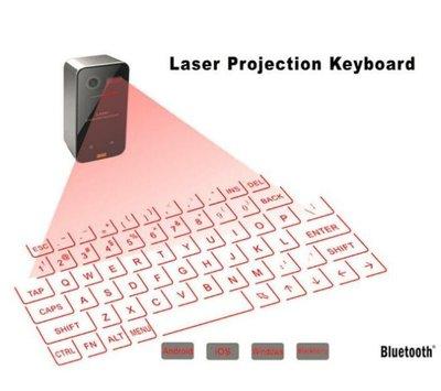 KB560S投影鍵盤 虛擬鍵盤滑鼠 二合一 安卓蘋果通用  3721