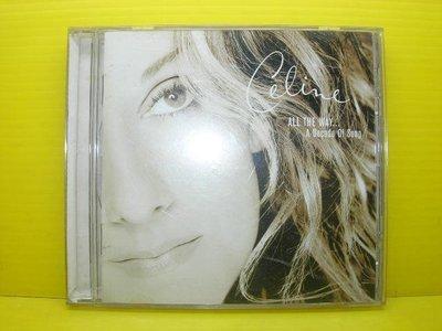 【【博流挖寶館】】 光碟CD CELINE DION ALL THE WAY A DECADE OF SONG