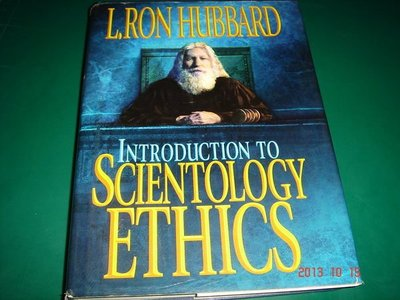 INTRODUCTION TO SCIENTOLOGY ETHICS 精裝大本 ISBN: 1-57318-132-3 【CS超聖文化讚】寄