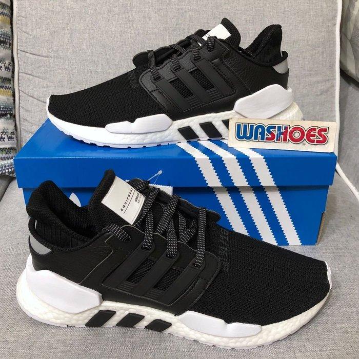 Washoes adidas EQT Support 91/18 黑白 BD7793 輕量 BOOST 慢跑鞋 男鞋03