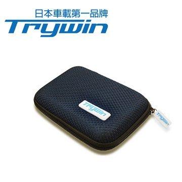 (蘋果幫)Trywin 原廠五吋硬殼保護套 全新未拆封  適用於各廠牌5吋衛星導航機    買一送一 行李包 充電器收納