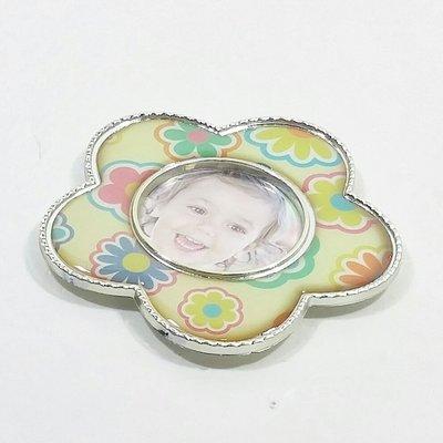 KS ZAKKA (Japan) Keystone 磁石貼 BB 花花迷你相架 綠Keystone Magnet Baby