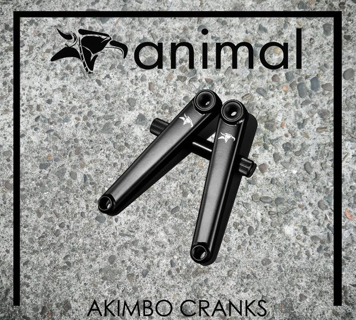 [Spun Shop] Animal Bikes Akimbo Cranks 曲柄