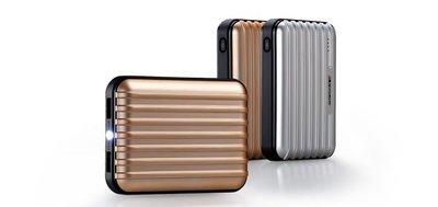 全新行貨 Momax iPower Go+ 高容量多用途便攜式外置充電器 11200mAh 後備電池雙USB金/紅色