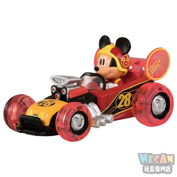 TOMICA多美迪士尼小汽車 米奇妙妙車隊 米奇小車(進階版-公路賽車) 12813