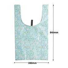 *現貨*日本SUMIKKO GURASHI 角落生物 2WAY 輕便 環保袋 手提袋 購物袋 收納袋 折疊包 圓圈 藍色
