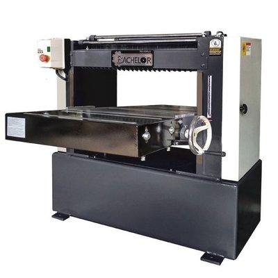 Bachelor 24英吋重型自動刨-螺旋刀-預購機種(不含稅/不含運)-- 博銓木工機械