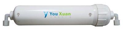 【清淨淨水店】台灣YOWSHAN 0.1微米(0.1 Micro),原料日本中空絲膜 KT濾殼型500元/支(白色外殼