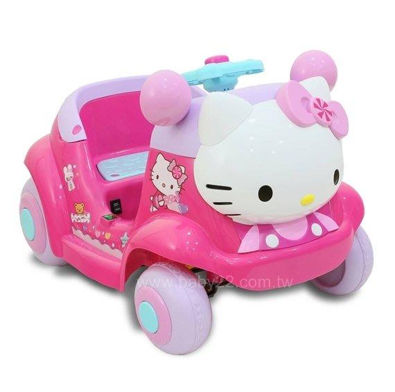 Hello Kitty凱蒂貓-超可愛(附遙控)粉嫩嫩電動車(W402QG3)