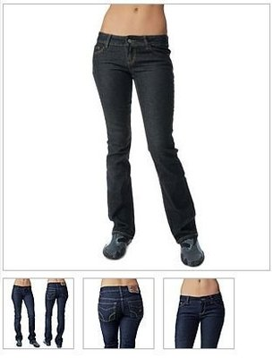 阿弘的賣場 Dickies Girl XB183BK 5 Pocket Classic Boot Cut Jeans BK 黑色