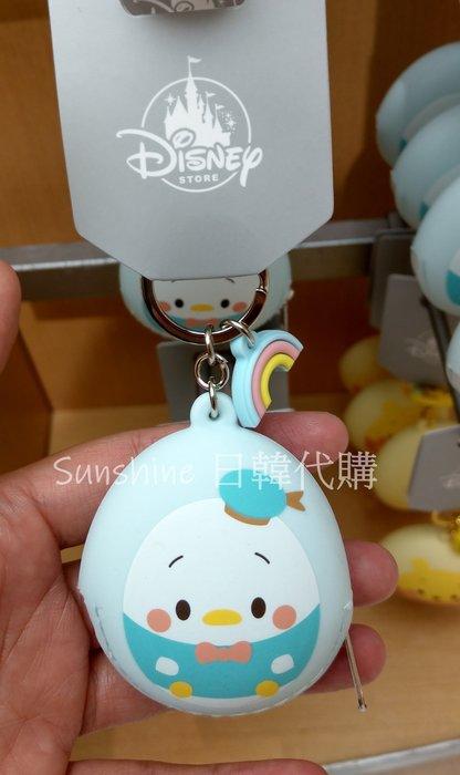 限量 日本 迪士尼disney 維尼 奇奇 唐老鴨 矽膠 造型 蛋形 鑰匙圈 零錢包