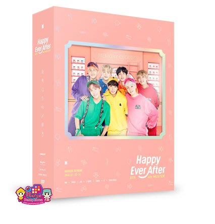 送徽章 BTS [Happy Ever After DVD ]  4th Muster <韓格舖>附寫真書