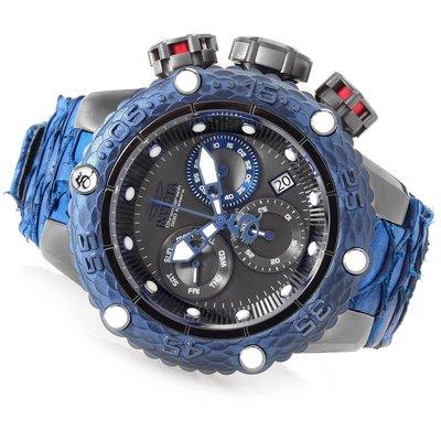 《大男人》Invicta Subaqua#5069瑞士大錶徑50MM潛水錶,特殊錶冠設計,龍鱗皮帶非常漂亮值得收藏