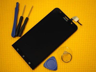 免 ~新生 手機快修~ASUS Zenfone 2 ZE550ML 液晶螢幕總成 無法顯示 Z008D 玻璃破裂維修