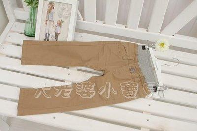 ❤ 大老婆小寶貝❤ MPS 原單超讚卡其色水洗工裝長褲*120cm.140cm