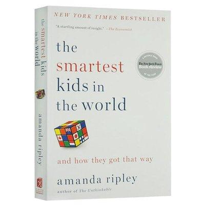 收納用品 華研原版 世界上最聰明的孩子 英文原版 The Smartest Kids in the World 全英文版 家庭教育@16257
