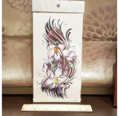 【萌古屋】大百合手臂大圖 - 男女防水紋身貼紙刺青貼紙 K00