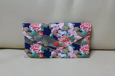 日式 和風 東洋風 拉鍊 暗扣 兩收納 零錢包 收納包 拉鍊包 錢包 鑰匙包 異國風 手拿包 零錢袋