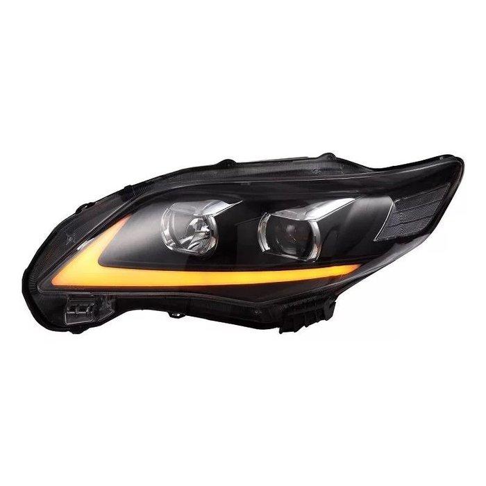 合豐源車燈 ALTIS 10 11 12 13 魚眼 透鏡大燈 LED 導光 頭燈 IS250 10.5代 雙色 卡羅拉