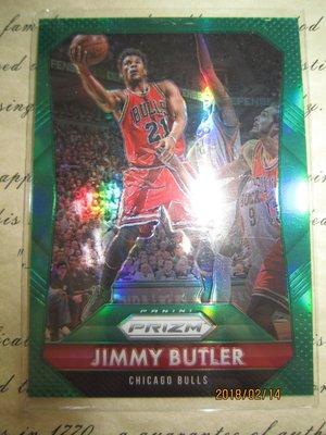 新賣家~15/16~Jimmy Butler~PRIZM~綠亮~REF~沒限量~20 1元起標
