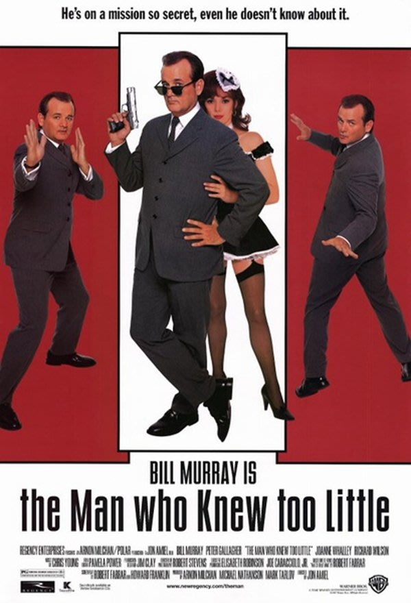 【藍光電影】特工插班生 The Man Who Knew Too Little(1997)119-009