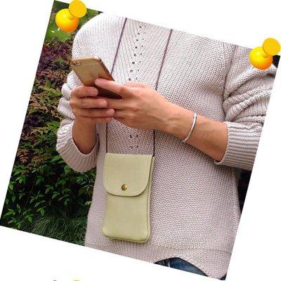 【GooMea】3免運 Realme 5 6.5吋 5 pro 6.3吋單層斜背 掛頸 皮套 掛脖 手機套 保護套 綠咖