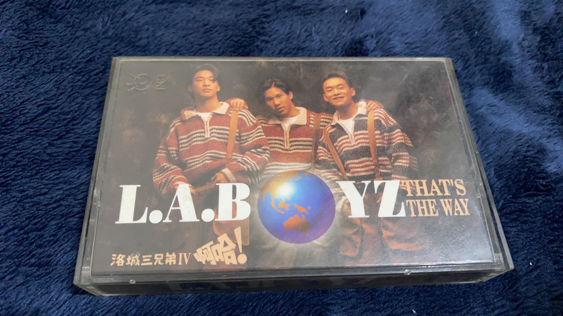 ﹝我的偶像﹞L.A.BOYZ - Thats the way 金斯頓的夢想  二手錄音帶卡帶  波麗佳音唱片