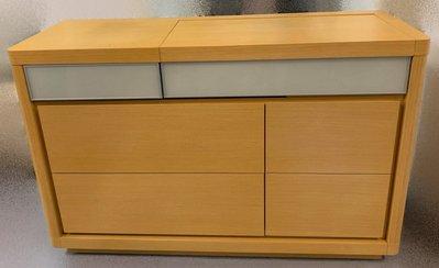 【宏品二手家具館】 2手家具賣場 B51611*多功能木紋化妝台*中古臥室家具拍賣 床組 床墊 床架 床板 床箱 床頭櫃