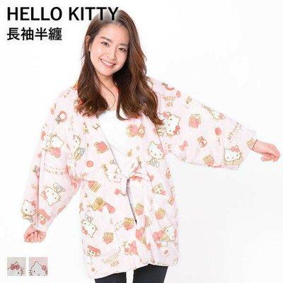 預購 Co媽日本精品代購 日本 正版 Hello Kitty 睡衣 居家服 軟綿綿 家居服 長袖睡袍