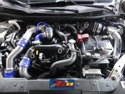 @沙鹿阿吐@ NISSAN BIG TIIDA 渦輪套件進氣組+ SIMOTA 強化矽膠管+進氣洩壓閥~專車專用直上型