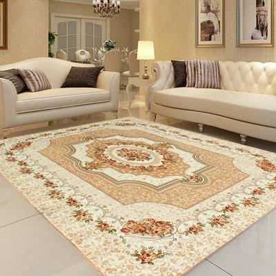 客廳地毯可手洗臥室床邊茶幾防滑歐美北歐家用田園珊瑚絨    全館免運