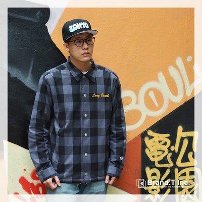 【Brand T】SALE CHAMPION COACH JACKET C3-L603-080 刺繡*格紋*教練*外套