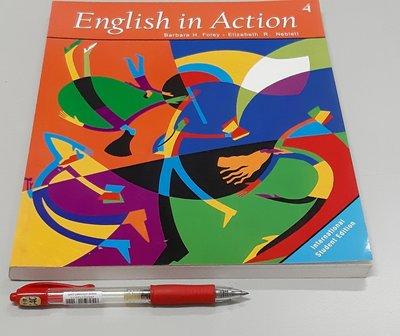英文聽說讀寫初階中級English in Action 4: International Student Edition