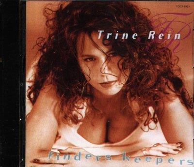 K - Trine Rein - Finders Keepers - 日版 CD+1BONUS 1994