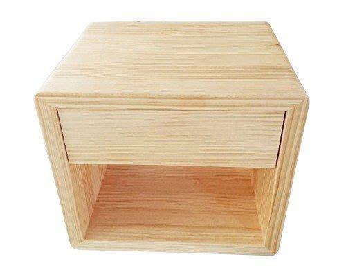 【森林原木手工家具】原木床頭櫃