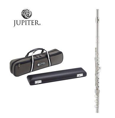 【現代樂器】免運!最新Jupiter JFL-1000RBE Flute 長笛 925銀合金鍍銀吹口管+Low Bb尾管