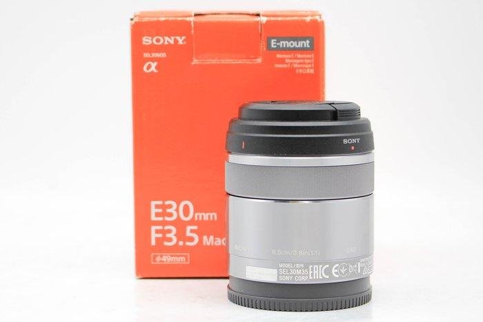 【高雄青蘋果3C】SONY E 30mm F3.5 Macro SEL30M35 E-MOUNT 二手鏡頭 #46200