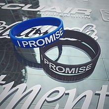 丸子雜貨鋪 美國新款潮牌勵志I PROMISE腕帶詹姆斯同款硅膠手環運動手圈手鍊